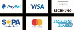 Logos Zahlungspartner